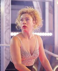 Alex Kingston as River Song, The Husbands of River Song ...