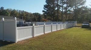 Vinyl Privacy Fence Aylett Va Fence Scapes Llc