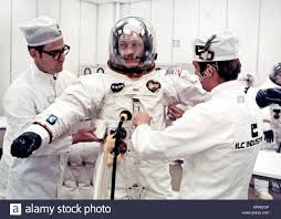 Jack Swigert suits-up Stock Photo - Alamy