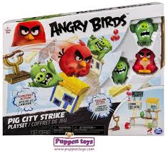 Angry Birds Playset Attack On The Island - Juguetes Puppen Toys