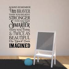 Inspirational Wall Decals In Decors