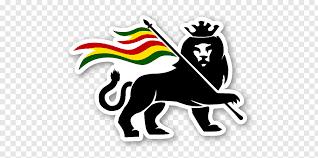 rastafari lion of judah logo jah zion