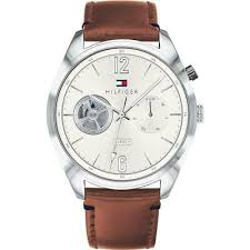 tommy hilfiger deacon brown leather
