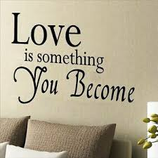 Huhome Pvc Wall Stickers Wallpaper English Poetry Love Wedding Bedroom Bedside B Ebay