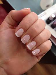 French Manicure French Tip Gel Nails
