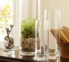 aegean clear glass vases glass vase