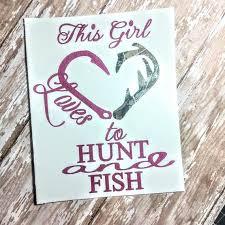 Buck Deer Hunters Decal Deer Antler Monogram Girls Hunt Etsy