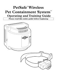 Petsafe Wireless Pet Containment System Dog Fence Diy Pages 1 16 Text Version Anyflip