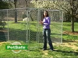 Petsafe Dog Kennel Set Up Dog Kennel Dog Kennel Designs Chain Link Dog Kennel