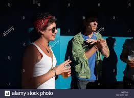 Smoking ban feature Celina Smith Ben Errington Stock Photo: 25131711 - Alamy