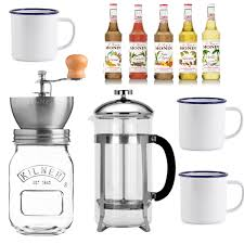bean to cup coffee gift set
