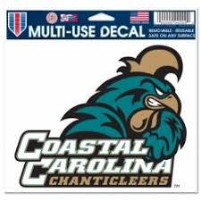 Coastal Carolina University Stickers Decals Bumper Stickers