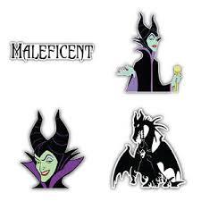 Maleficent Cartoon Set Of 4 Vinyl Sticker Decal 5 Longer Side Id 2 Ebay