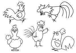 Ảnh đẹp: Tranh tô màu con gà đẹp nhất cho bé - Thư Viện Ảnh