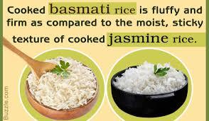 jasmine rice vs basmati rice here s