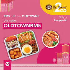 oldtown white coffee x foodpanda rm voucher code
