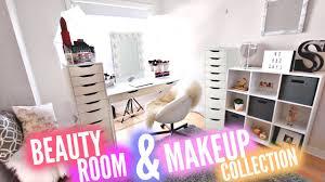 huge beauty room tour 10 000 makeup