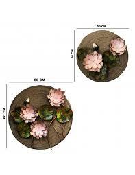 vinoxo large 3d lotus flower metal