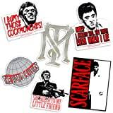 Amazon Com Scarface Decal Sticker Peel And Stick Sticker Graphic Auto Wall Laptop Cell Truck Sticker For Windows Cars Trucks Automotive