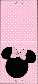 Minnie Rosa Etiquetas Para Candy Bar Para Imprimir Gratis