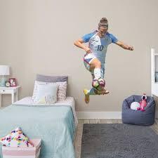 Girls Soccer Bedroom Carli Lloyd Fifa Wall Decals Girls Sports Room Girls Sports Bedroom Soccer Bedroom