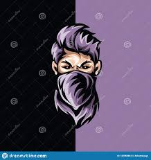 handsome thief gaming stock vector