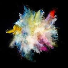 wallpaper powder explosion 7000x7000