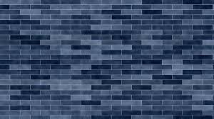 3840x2160 blue brick texture 4k