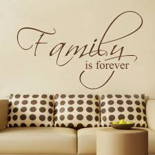 Family Is Forever Housewares Family Wall Decal Quote Vinyl Text Stickers Art Graphics Couples Decal 20 X 33 S Family Wall Decal Family Foreverfamily Is Forever Aliexpress