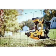 Dewalt Dcfs950p2 20v Max Xr Brushless 9 Gauge Fencing Stapler