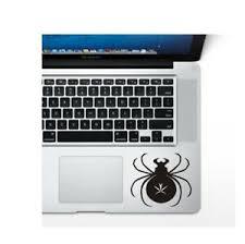 Black Widow Macbook Sticker For Laptop Ipad Surface Pro Vinyl Decal Ebay