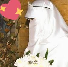 عروسة منتقبة جميلة جدا تالقي يوم زفافك واحتفظي بالنقاب احاسيس