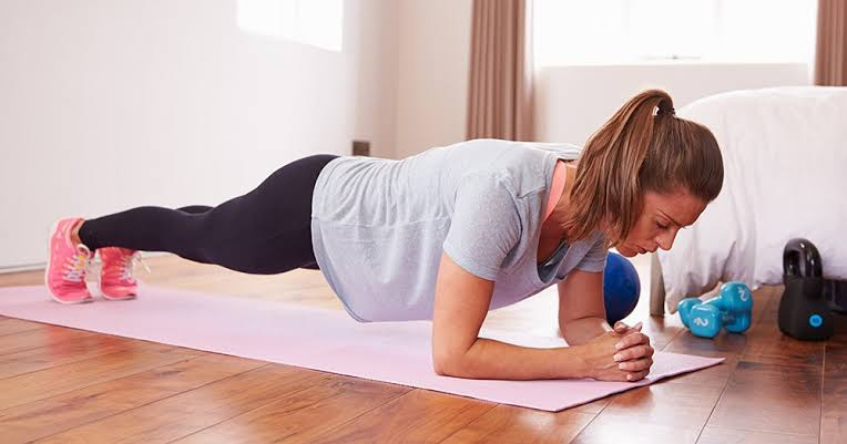 Image result for plank women exercise hd images""