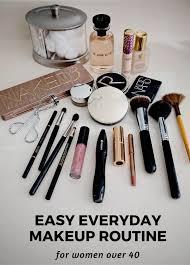 my cur makeup routine