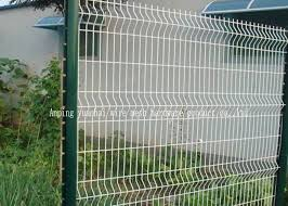 Rot Proof Pvc Coated Garden Wire Fencing Panels Galvanised Welded Mesh Sheets