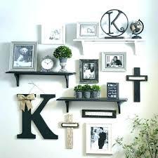 bedroom master wall shelf design ideas