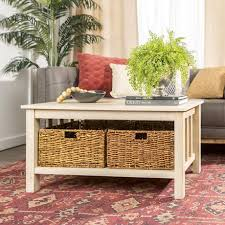 manor park rustic wood coffee table