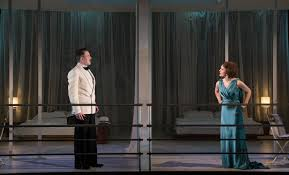 Shane O'Reilly and Rebecca O'Mara in the Gate's production of Private Lives  by Noël Coward. Pic by Pat Redmond | Noel coward, Private life, Life
