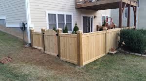 Perimeter Wood Fence Installer Serving Asheville Nc Jsj Fencing