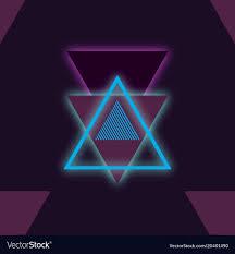 blue violet colors vector image