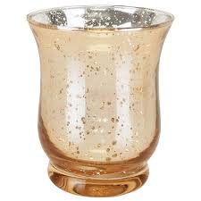 mercury glass votive candle holder 4 5