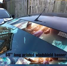 Buy 60 Bioshock Infinite Video Game Rpg Strip Printed Windshield Car Vinyl Sticker Decal