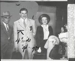 1937 Press Photo Boxer Tommy Farr in Paris with Polly Ward & Manager B |  Historic Images