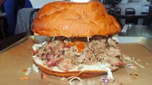 pigzilla bbq pulled pork sandwich