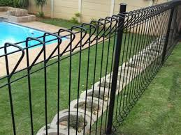 Roll Top Fence For School Park Playground Pool Airport Fencing