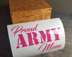 Army Mom Decal Etsy