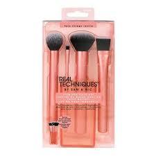 flawless base makeup brush set