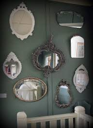 decorating stairway walls with mirrors