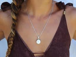shell necklace shiva eye pendant shell