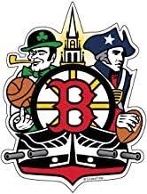 Amazon Com Boston Sports Stickers